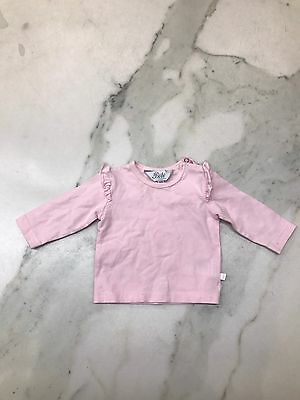 Bebe By Minihaha Baby Girl Long Sleeved Top 6 Mths Worn Once Like New Condition