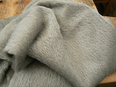 Mohair/German,Antique Style 1/16m ( Med. Grey)Semi Sparse