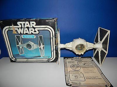 Vintage Star Wars TIE Fighter with Working electrics & box