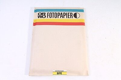 100 Sheet old ORWO Photo paper BPE Quick copy paper positive single-sided