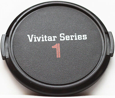 Vivitar Series 1 Front Lens Cap 62mm 62 mm Snap-On RARE