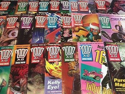 2000AD Progs 801-850  50 issues / programmes comic collection -  FREE GIFTS