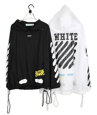 NWT Off White C/O Virgil Abloh Jacket Loose Ultra Thin Windproo Sunscreen Coat