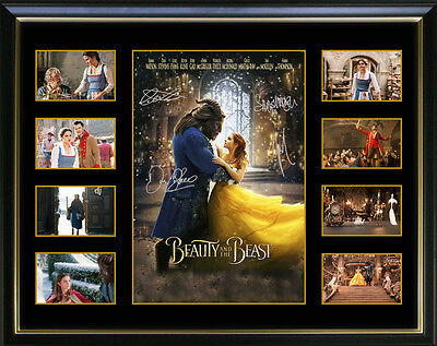 Beauty and The Beast signed Limited Edition Framed Memorabilia