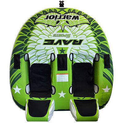 RAVE Warrior 2 Towable Water Tube - 2-Rider 2462