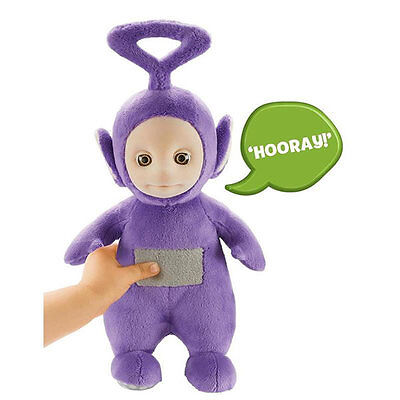 Teletubbies Talking Tinky Winky Plush Soft Toy - Purple