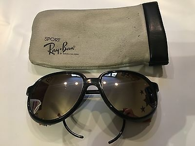Vintage Bausch & Lomb Ray Ban Arctic CATS Glacier Mirrored Sunglasses w/Case