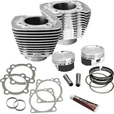 S&S 1200 Conversion Kit Silver Harley XL883L Sportster SuperLow 2011-2013