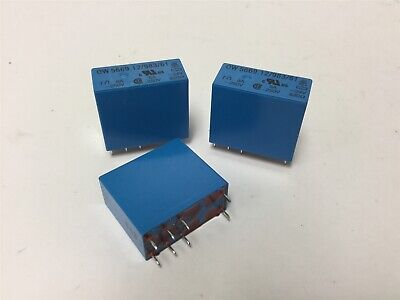 Lot of 3 Dold & Soehne OW 5669.12/983/61 Safety Relays, DPDT, Coil: 24VDC