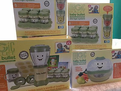 """MAGIC BULLET """" BABY BULLET """" CARE SYSTEM 44pc SET * NEW IN BOX!"""