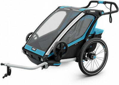 Thule Chariot Sport 2 Child Trailer Blue/Black
