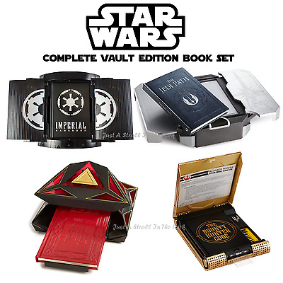 Star Wars: Complete Deluxe Vault Edition Set Book Of Sith + Jedi Path + More NEW