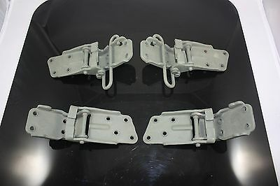 Late 1969-1982 C3 Corvette Original Door Hinge Car Set Upper Lower Left & Right