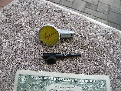 Starrett 709 L-M metric dial indicator .01mm test machinist tool