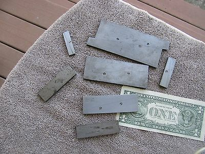 Starrett adjustable parallels parallel set & Lufkin machinist  tool