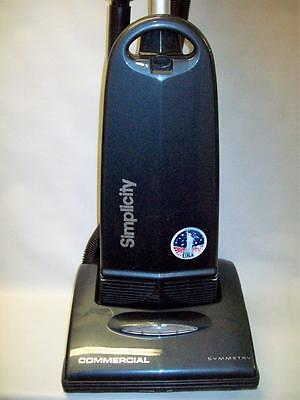 Simplicity Symmetry Upright Commercial Vacuum cleaner with onboard hose