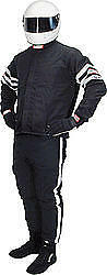 RJS SAFETY Black  X-Large  Multiple Layer  Driving Jacket P/N 200080106