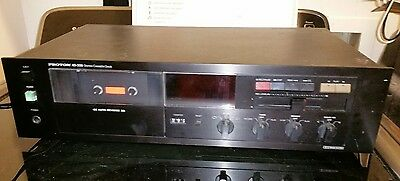 Proton Ad-300 Audiophile Cassette Deck In Great Working Condition