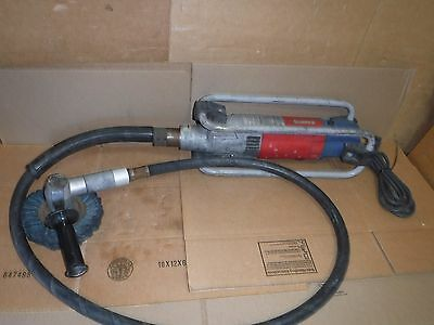 Suhner Rotostar Polisher Grinder Sander Heavy Duty W/ 6' Flexible Shaft 110V
