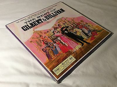 The Best Of Gilbert & Sullivan 1963 Excellent Complete Lp Box Set