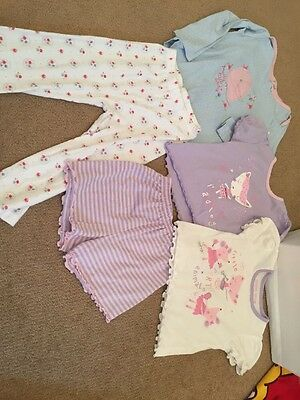 Bundle Girls Pyjamas Age 18-24 Months And 24-36 Months