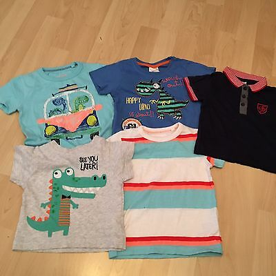 Boys T Shirts Age 9-12 Months