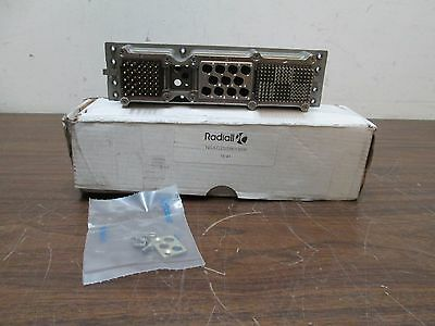 Radiall NSX G Arinc 600 Aerospace Rack and Panel Connector NSXG2S586YB09 NEW