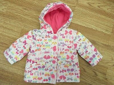 George Baby Girls Light Weight Butterfly Coat 0-3 Months