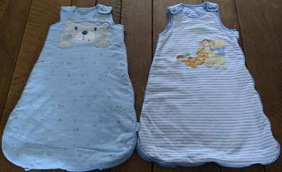 2 x Baby Sleeping Bags by George - Age 0 - 6 Months