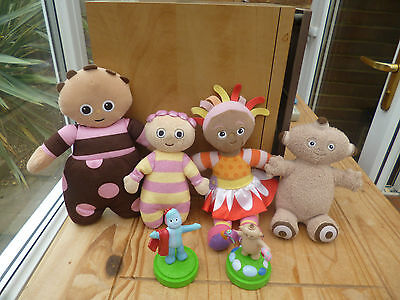 In The Night Garden Soft Toy Bundle + 2 Figures - Good Condition