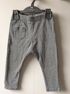 Zara Baby Boys Grey Stripe Leggings Trousers Age 18-24 Months