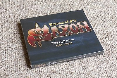 Saxon - Baptism of Fire - The Collection 1991-2009 2CD - New & Sealed