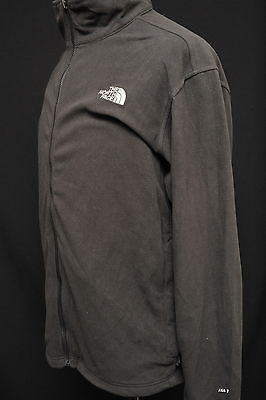 North Face Hiking / Walking Fleece Jacket Mens Xl Tka 1 Black