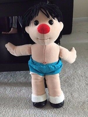 "Vintage 1995 Big Comfy Couch TV Show 18"" Molly - Plush Plushie Play Rag Doll"