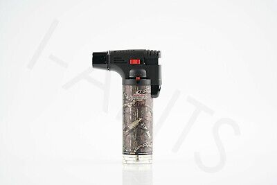 (Original) Eagle Torch Gun Adjustable Flame Refillable Lighter Mossy Oak