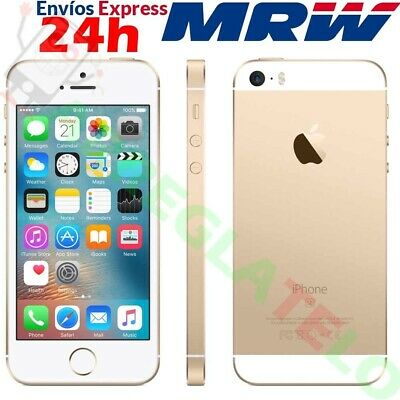 Apple iPhone SE 16GB 4G GPS IOS Dorado Oro Espacial * NTI * Grado A+