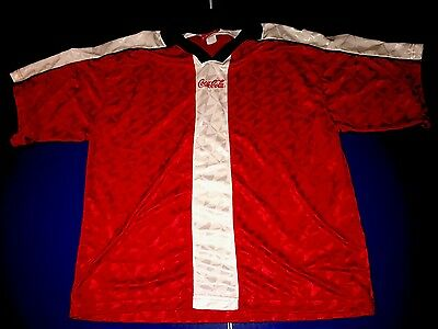 Coca Cola Soccer Jersey Size Large