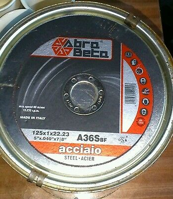 """8X  METAL CUTTING / SLITTING DISCS 115MM  4.5""""+ 1x mop disc FOR ANGLE GRINDER"""