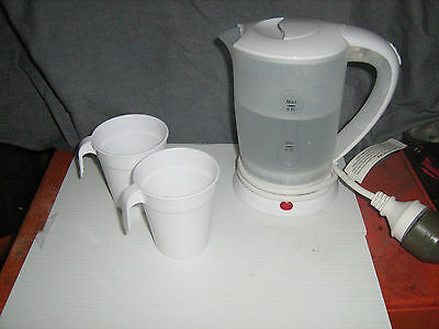 Low Wattage Kettle 600-700 caravaning camping boating low powered areas