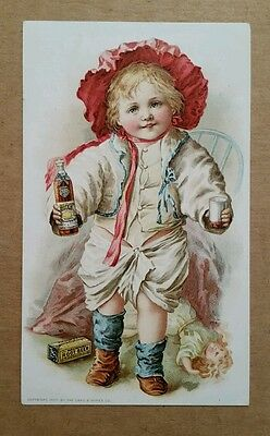 Hires Root Beer,Trade Card,1890's