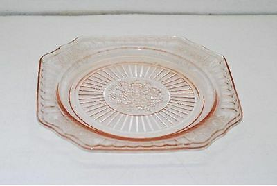 Hocking Mayfair Open Rose Pink 8.5 Inch Salad Luncheon Plate