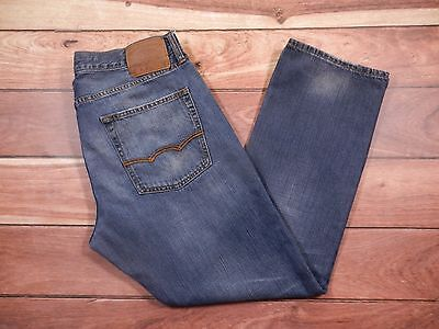 Mens American Eagle Outfitters Jeans Size 34x30 Slim Straight Leg 100% Cotton