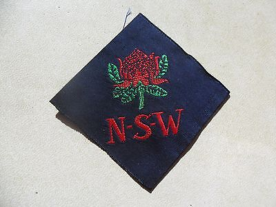 Girl Guides Australia NSW State Cloth Badge #