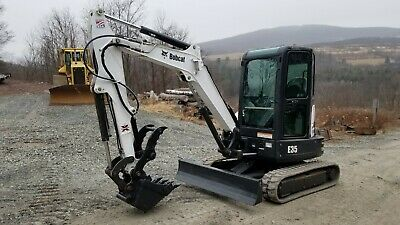 2011 Bobcat T190 Track Skid Steer Cab Heat Acs Very Nice Ready Work In Pa!