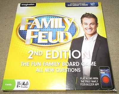 Family Feud 2nd Edition Board Game - Based on the hit TV Show! COMPLETE