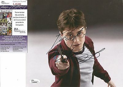 Daniel Radcliffe Harry Potter Movie Jsa Coa Signed Autographed 8X9 Photo Rare