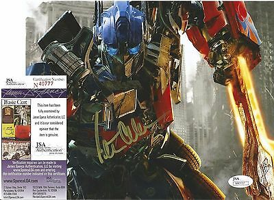 Peter Cullen Transformers Optimus Prime Signed Autographed 8X10 Photo Jsa Coa
