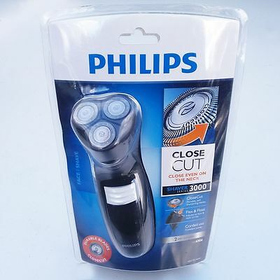 Philips Series 3000 Corded Electric Shaver Mens Dry Shaving Beard Razor Grooming
