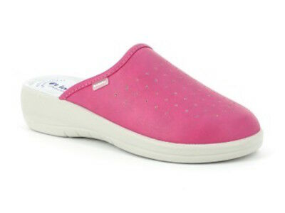 Ciabatte sanitarie donna in blu Art. 40-33 - i colorati di in blu, Colore Fuxia