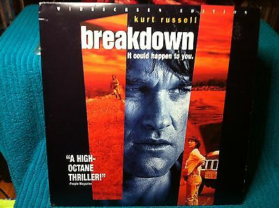 Breakdown Laserdisc Ntsc